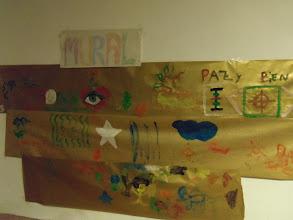Photo: Taller mural fiesta de ocio todos y para todos