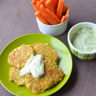 Veggie Pancakes! Breakfast for Busy Kids!