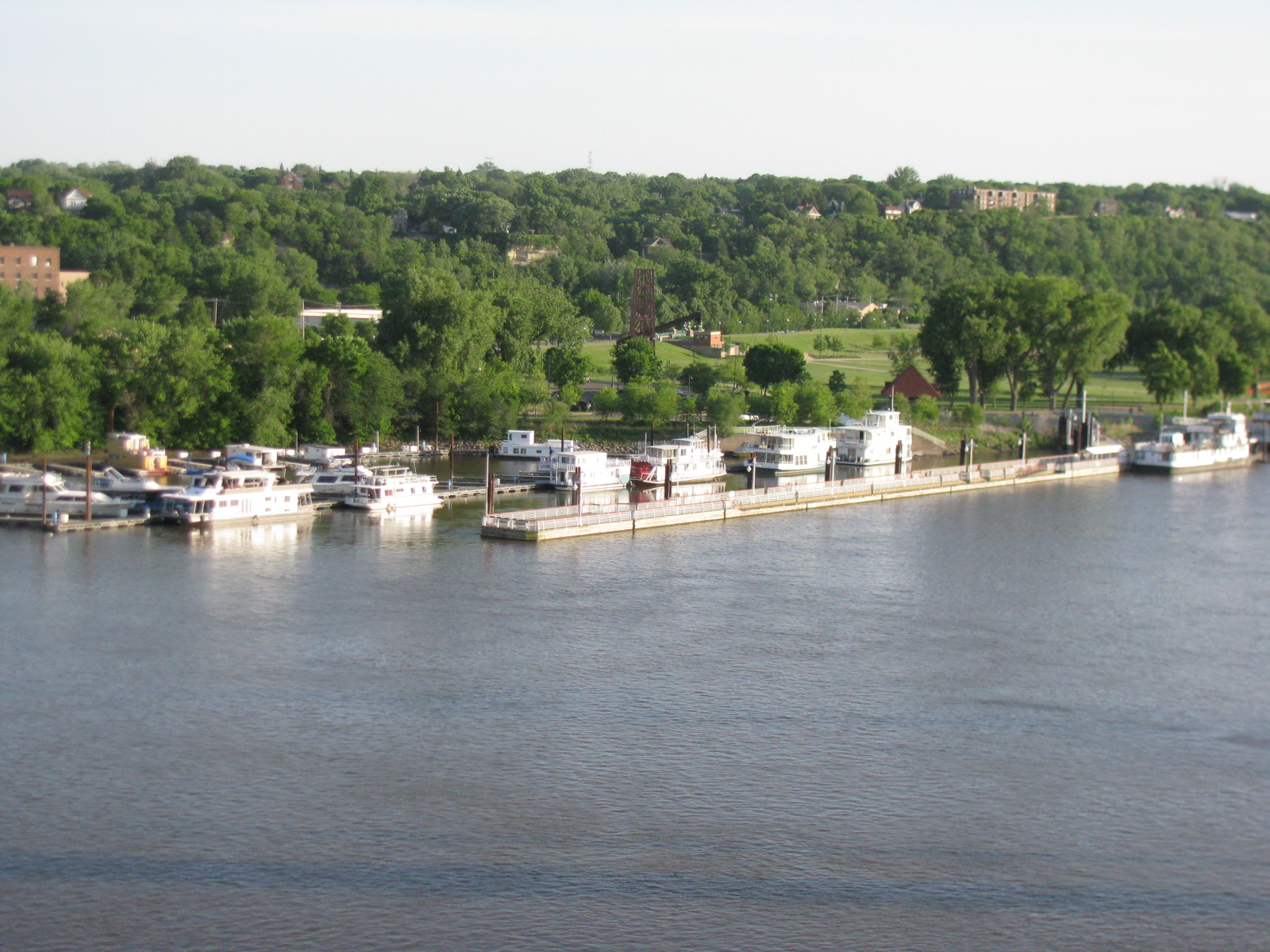 Photo: Mississippi river, St. Paul (May 13)