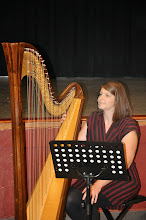 Photo: Thank you to Monica Schley for adding music to our evening.