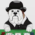 CaramelMoji - Bulldog Blogger dog emojis stickers icon