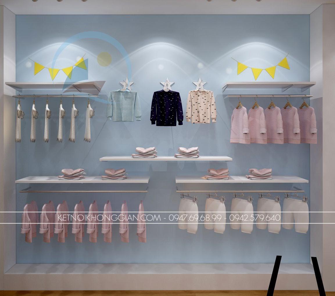 thiết kế shop thời trang trẻ em giá rẻ 18