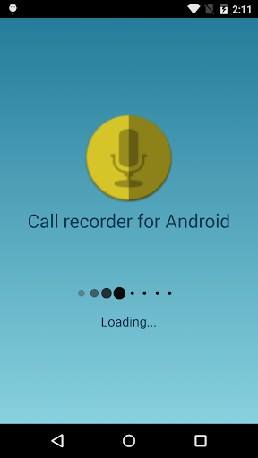 Call recorder for Android