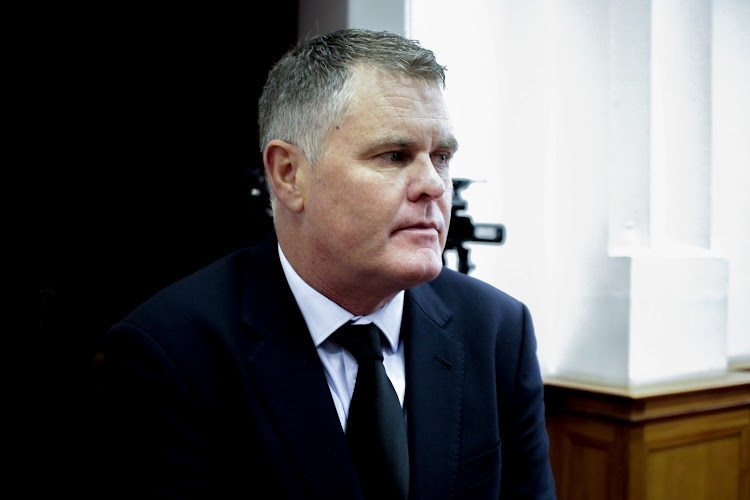 Jason Rohde has been accused of murdering his wife Susan at the Spier Wine Estate hotel in 2016. Rohde says his wife committed suicide after learning of his affair with a work colleague.