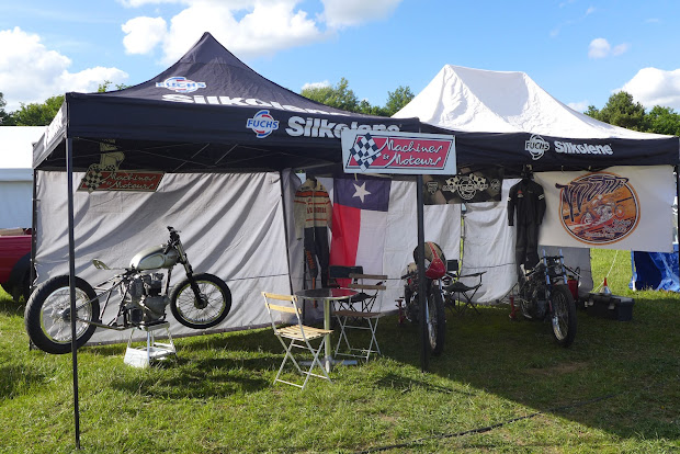Our stand Machines et Moteurs on  Café Racer Festival 2017