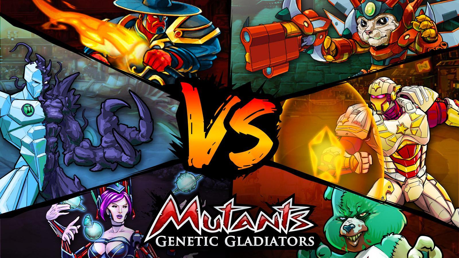 Screenshots of Mutants Genetic Gladiators for iPhone