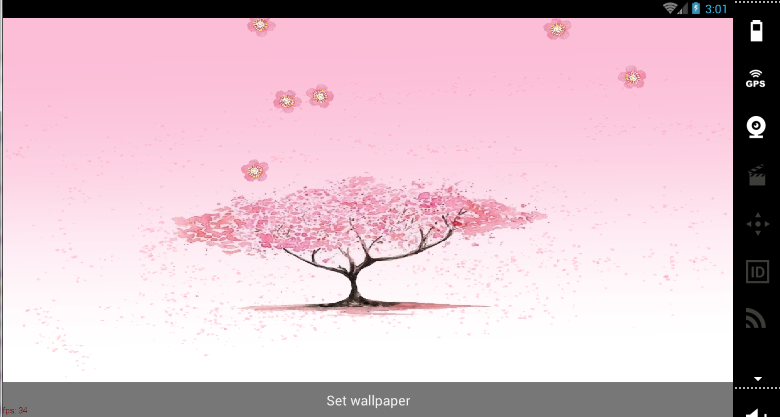 Live Sakura Wallpaper on your android. in Fan Creations