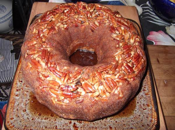 Rum Pecan Pound Cake