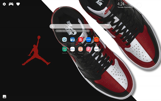 Air Jordan HD Wallpapers New Tab