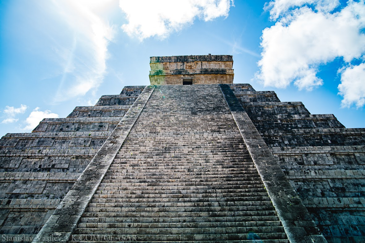 Чичен-Ица, пирамида Кукулькана