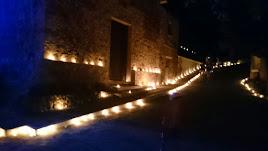 Noche de las Velas de Vícar en una imagen de archivo.