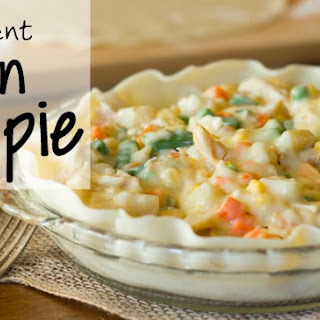 4-Ingredient Simple Chicken Pot Pie
