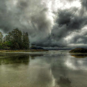 Nu-cha-nulth territory. by Brenda Baird - Landscapes Weather (  )
