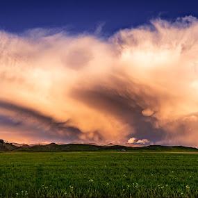 Superstorm by Matthew Clausen - Landscapes Cloud Formations ( storm, nature, huge, clouds, landscape, superstorm )