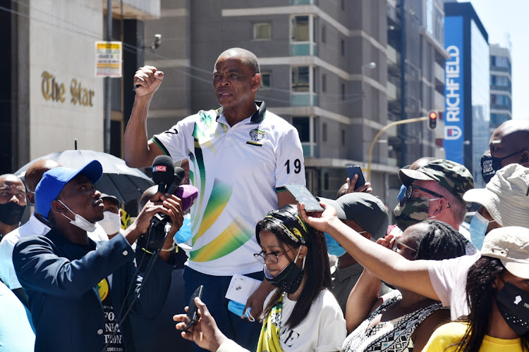 Supporters of ANC secretary-general Ace Magashule are planning a series of national shutdowns to protest against a decision taken by the ANC national executive committee that he step dowen from his position or face disciplinary action , City Press reported on Sunday.