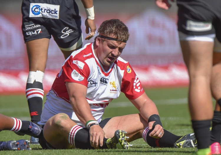 Ruan Dreyer of the Golden Lions during the Currie Cup match between Xerox Golden Lions and Steval Pumas at Emirates Airline Park on September 02, 2017 in Johannesburg, South Africa.
