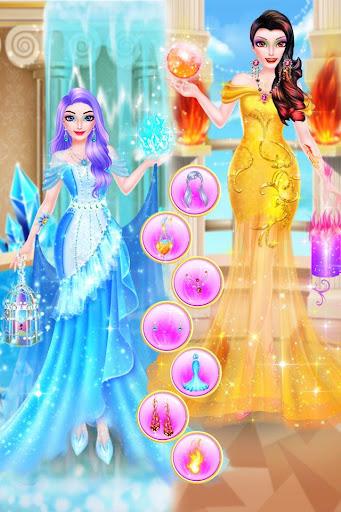 Ice VS Fire Princess Makeup 1.0.2192 screenshots 4
