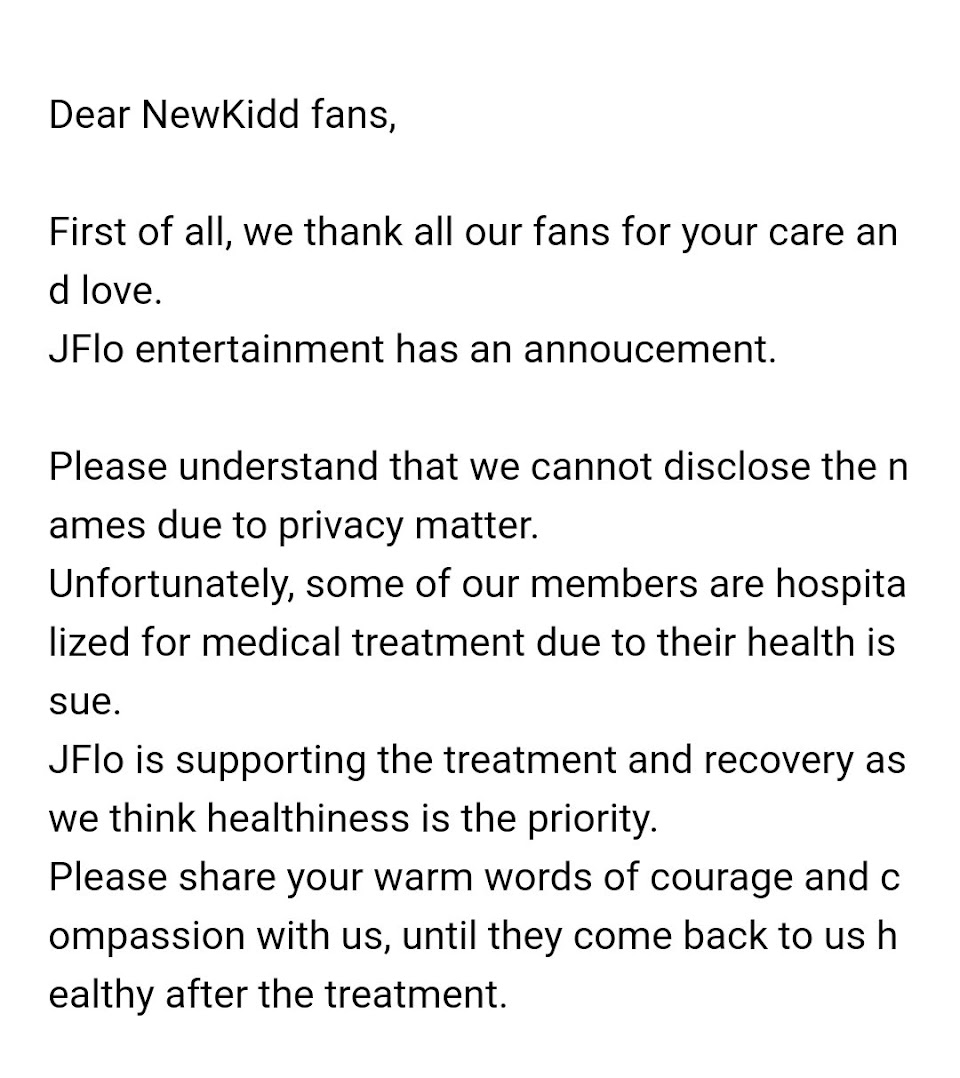 jflo entertainment newkidd fancafe