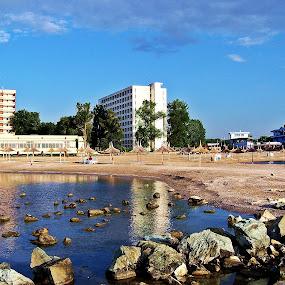 by Bogdan Ene - Landscapes Beaches ( water, sea, romania, beach, morning )