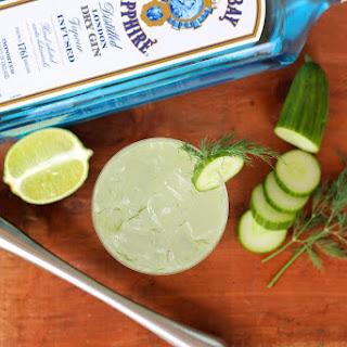 Cucumber Dill Gin Collins