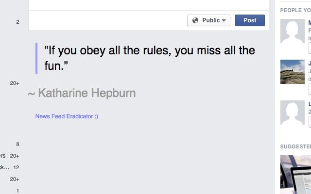 Feminist News Feed Eradicator for Facebook