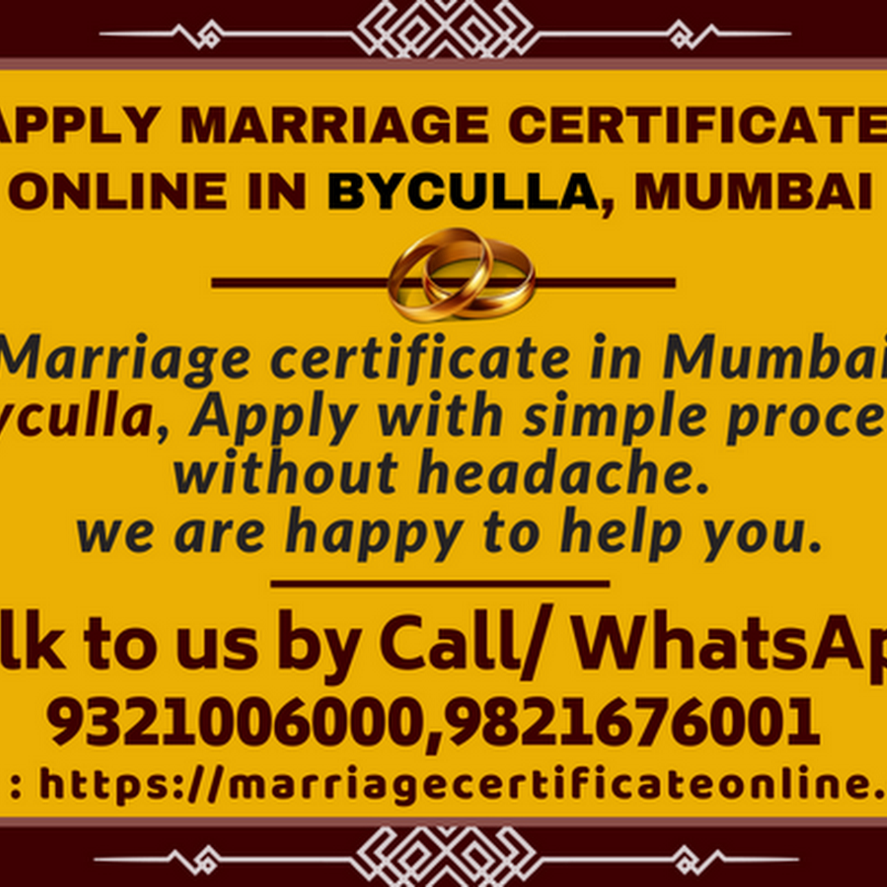 Marriage Certificate Online Services Mumbai Get Your Marriage