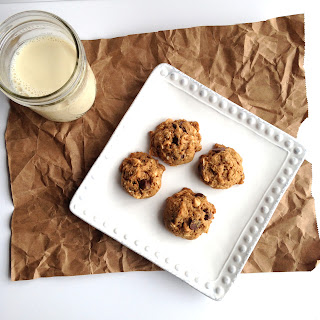 Coconut Oatmeal Cookies with Chocolate & PB Chips Recipe