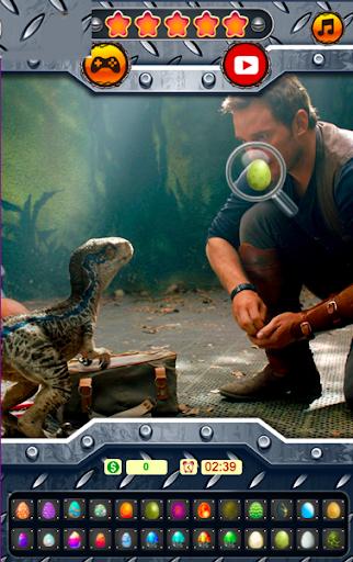 Télécharger Gratuit Œufs cachés du monde des dinosaures - jeu Le monde  APK MOD (Astuce) screenshots 1