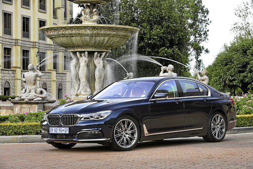 BMW will update the current 7 Series earlier than expected. Picture: NEWSPRESS UK