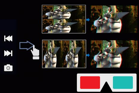 DiME 3D Player - náhled