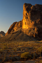 Photo: Courthouse Rock, Eagletail Mountains Wilderness, Arizona