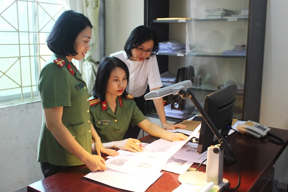 Sự phối hợp chặt chẽ giữa các bộ phận trong Ban Thư ký góp phần cho ra đời những số báo sáng tạo, chất lượng
