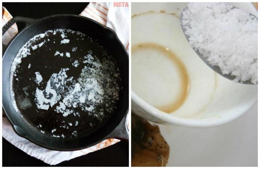 Chỉ cần một nhúm muối ăn là sạch bóng nhà cửa, bạn hãy thử ngay!