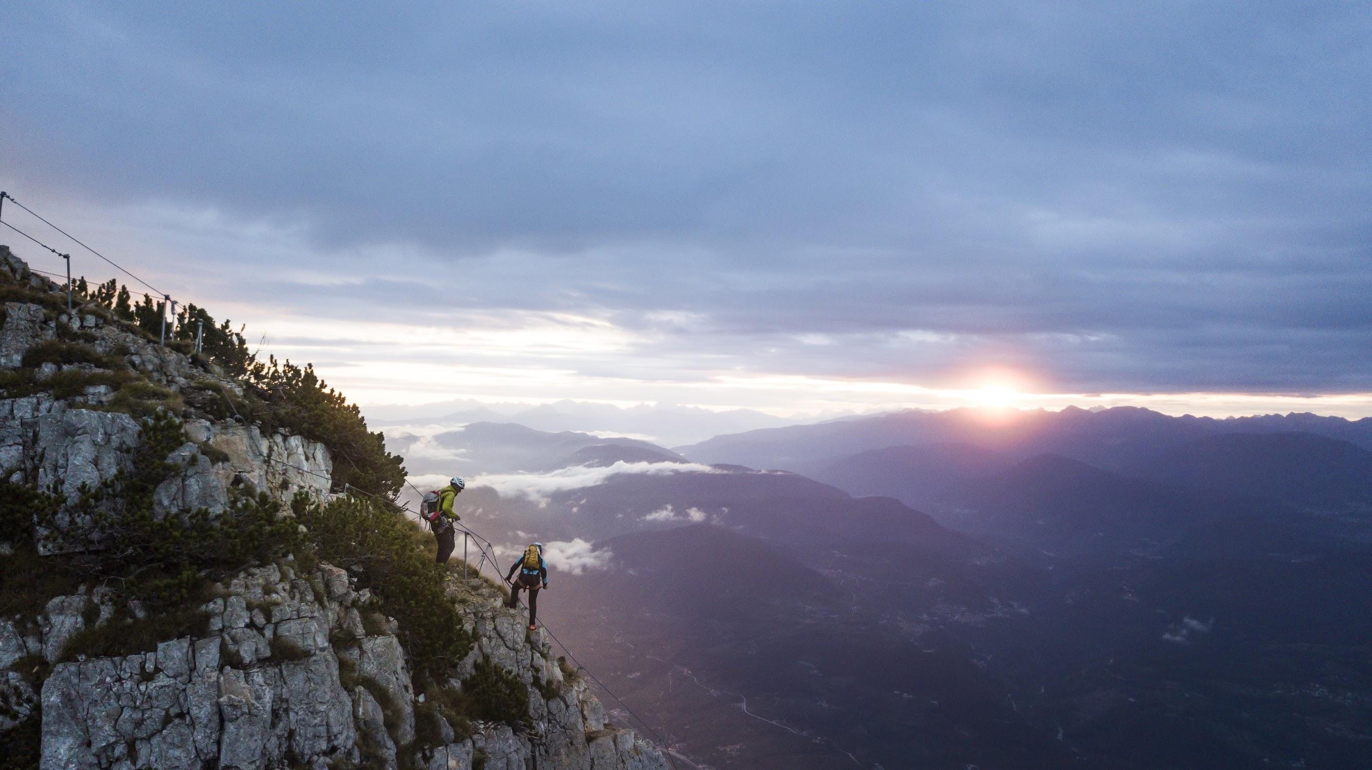 Via ferrata delle Aquile, Dolomiti Brenta