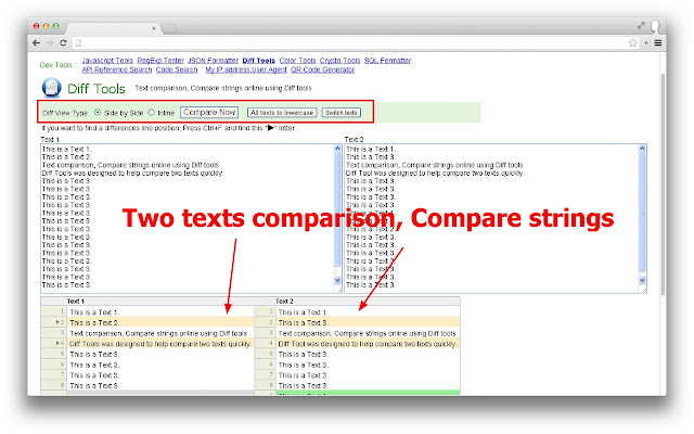 Diff Tools (Text, PDF, DOC, ODT   Compare)