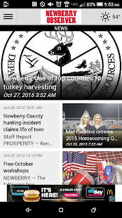 The Newberry Observer- screenshot thumbnail