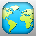 World Map 2016 icon