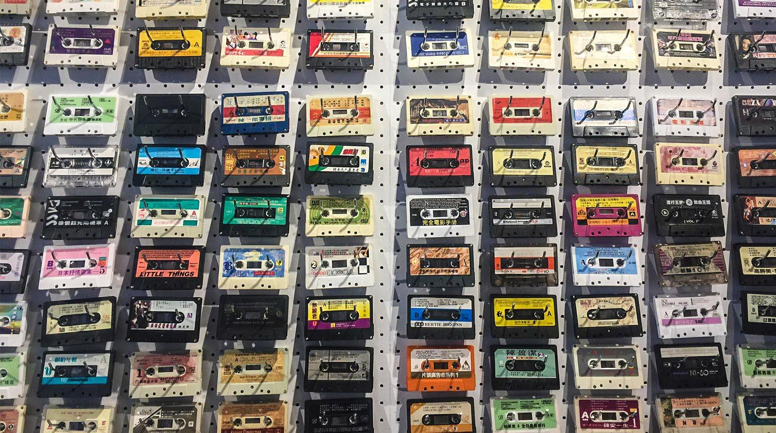 讓回憶倒帶 全台唯一卡帶專賣店「 感傷唱片行 」
