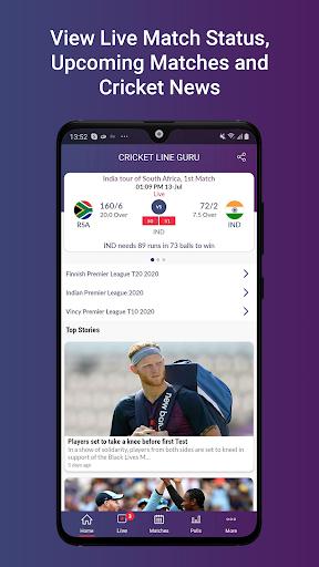 Cricket Line Guru : Fast Live Line  Paidproapk.com 3