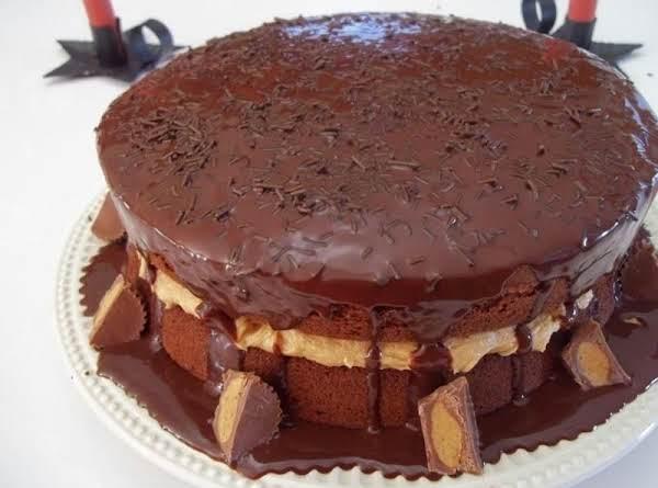 Chocolate Peanut Butter Blitz Cake - Cassies