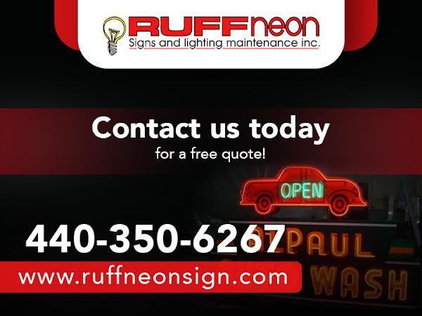 Ruff Neon Signs Lighting Maintenance Inc