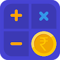 Financial Calculator Pro - EMI, SIP, FD, RD, PPF icon