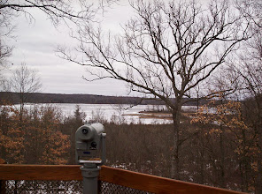 Photo: Mill Lake as seen from Eddy Discovery Center's observation deck