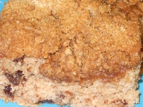 Bake 23 minutes. When cooled about 10 minutes, cut into 9 squares. Enjoy with...