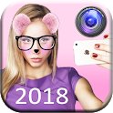 Snap Face Photo Editor: Cute Cat Face Sticker 2018 icon