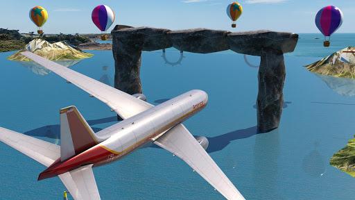 Code Triche Take off Airplane Pilot Race Flight Simulator mod apk screenshots 1