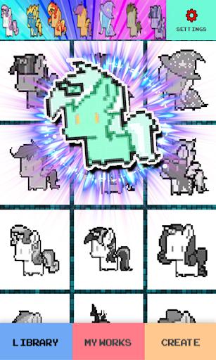 Pixel Art Pony image
