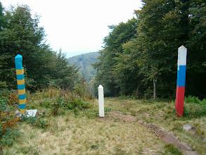 Photo: Ukrajinsko - slovenská hranice na Kremenci (1221 m)