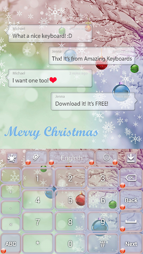 玩免費個人化APP|下載圣诞雪主题 app不用錢|硬是要APP