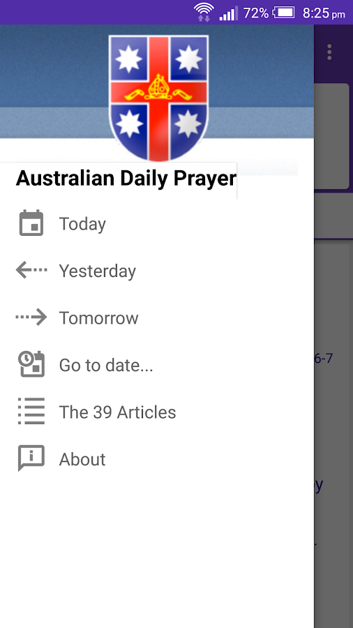 Australian Daily Prayer- screenshot